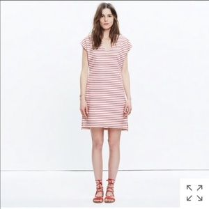 Madewell Striped Vancances Dress
